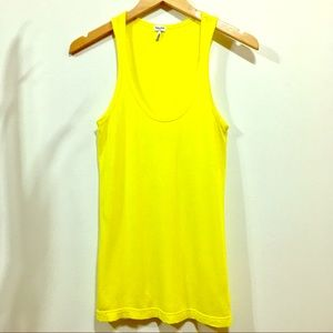 🍄Splendid bright yellow long soft tank